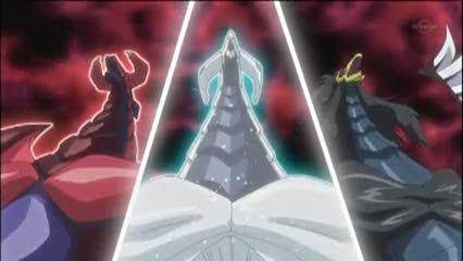 第136話 決死の攻防!機皇神VSシンクロモンスター